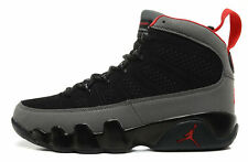 Nike Air Jordan 9 Retro 2010 Charcoal Black Men's Basketball Shoe Size 13