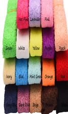 Baby Girls Hairband 2 Metres 35mm Lace Elastic for Headbands Kid + Lot