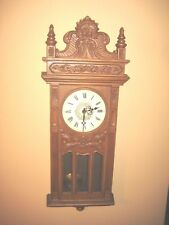 Vinage Large Syroco 1556 Pendulum Wall Clock Works