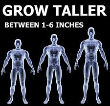 Gain Height Now - be up to 6 inches Taller - 12 Month Course - *SOLD WORLDWIDE*