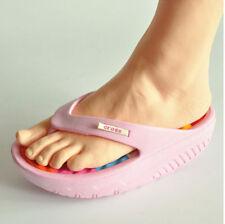 New 1pc Women's Lifelike Foot Mannequin Display Shoes Socks Flip Flop LEFT