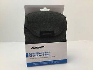 Bose Case For SoundLink Color Heather Gray New