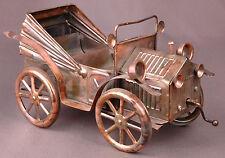 Music Box-Car, Horseless Carriage-Copper Metal w Movement Vintage-RARE-Sankyo...