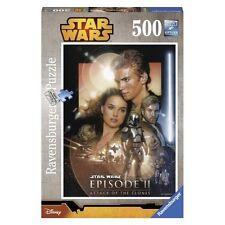 Ravensburger RVB14666 Star Wars Saga L'Attacco dei Cloni - Puzzle 500 Pezzi