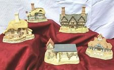 Lot of 5 David Winter Cottages from The Collectors Guild (No. 2 to 6)