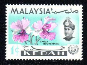 1965 Malaysia-Kedah SC# 106 - Orchid Type of Johore - M-H
