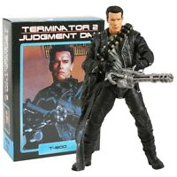 NECA Terminator 2: Judgment Day T-800 Arnold Schwarzenegger PVC Action Figure Co