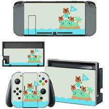 Animal Crossing AC Nintendo Switch Joy-Con Dock Vinyl Skins Decal Stickers