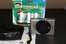 canon elph film camera aps film camera w/ 3 packs of film