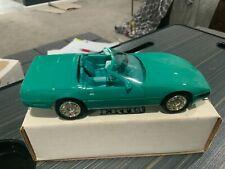 1991 Corvette Convertible Limited Edition promo Turquoise Metallic
