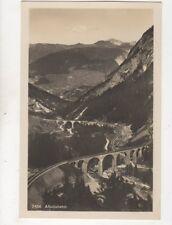 Albulabahn Switzerland Vintage RP Postcard 334b