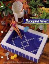 NEW ANNIE'S FASHION DOLL BACKYARD HAVEN GREAT PC DESIGNS