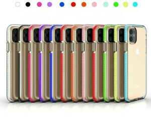HIGH QLTY iPhone case cover Soft Shockproof clear Bumper for iPhone8 11 11pro XS
