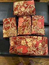 Pottery Barn King Duvet Cover, Shams, Flat Sheet & Cases