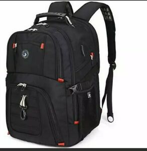 Extra Large 50L Travel Laptop Backpack with USB Charging Port Fit 17Inch Laptops