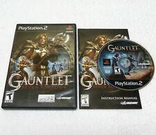 Gauntlet: Seven Sorrows (Sony PlayStation 2, PS2) Complete, Works Perfectly