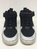 Air Jordan Fusion 12 GS Size 7Y Black White Varsity Red