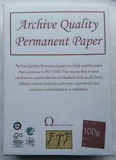 A4 100gsm papel ácido libre - 200 años de garantía paquete de 500 Hojas