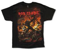 "ROB ZOMBIE ""BATTLE NOVEMBER 2013 TOUR"" BLACK T-SHIRT NEW OFFICIAL MUSIC ADULT"