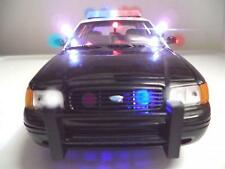 SFPD Ford Crown Vic 1/18 San Francisco K-9 Police Diecast Car Lights and SIREN
