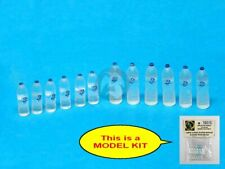 Special Ops 1/16 Disposable PET Clear Water Bottles Small & Large (12 pcs) 16015