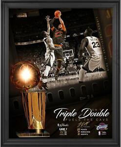 "LeBron James Cavaliers Framed 16"" x 20"" NBA Finals Photo - Fanatics"