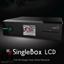 Red Eagle singlebox LCD e2 Linux Full-HD sat receiver dvb-s2 con 1xci 1 xcard