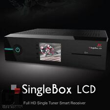 Red Eagle SingleBox LCD E2 Linux Full-HD Sat Receiver DVB-S2 mit 1xCI  1xCard