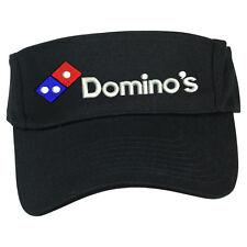 DOMINO'S PIZZA DELIVERY SUN VISOR CAP HAT ADJUSTABLE