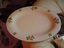 ROYAL DOULTON EVERYDAY PLATTER, 1997, APRICOTS, USED.40.3 CMS X 30.8 CMS APPROX.