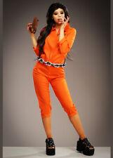 Womens Hannibal Style Orange Prisoner Costume