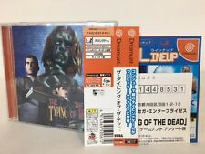 Sega Dreamcast The Typing of the Dead w/spine Japan JP GAME. z2637