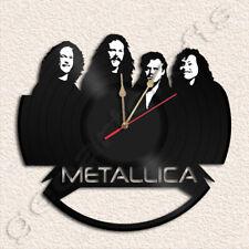 Metallica Wall Clock Vinyl Record Clock Handmade