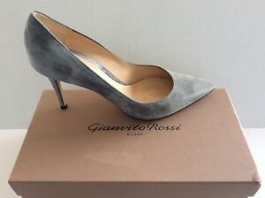 Gianvito Rossi  Milano Womans  Heel Shoes  .Sz 41.5. Made in Italy