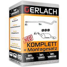 Auspuff Opel Corsa C 1.7 CDTI Schrägheck 2003-2010 SPORT Auspuffanlage *1096