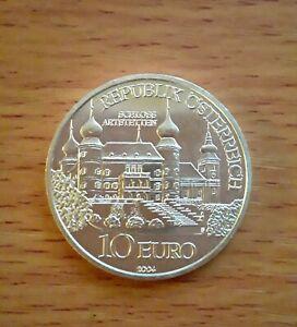10 euro Argent Autriche 2004