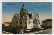 More details for the synagogue, szeged: hungary postcard (c35864)