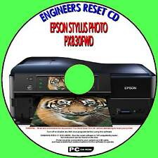 EPSON PX 830FWD PRINTER WASTE INK PAD COUNTER ENGINEER REPAIR RESET PC DISC NEW