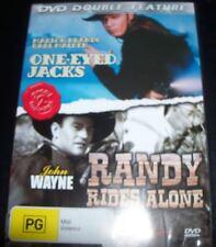 One-Eyed Jacks/ Randy Rides Alone (John Wayne) (Aust All Region) DVD - Like New