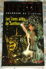 Rare: BLADE VOYAGEUR DE L'INFINI n°205 LES LIONS AILÉS DE JANTHOR (Jeffrey Lord)
