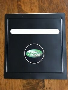 FITS LAND ROVER TAX DISC PARKING PERMIT HOLDER B