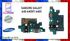 CONNECTEUR DE CHARGE OEM POUR SAMSUNG GALAXY A40 A405F/ A405 NEUF ORIGINAL FR