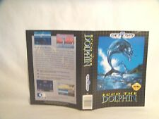 Ecco the Dolphin -Sega Genesis art work Only!  *Original art work*