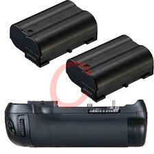 Battery Grip Pack as MB-D14 For Nikon D600 D610 DSLR Camera + 2x decode EN-EL15
