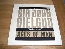 Sir John Gielgud-ages of mam.LP