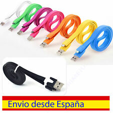 CABLE DE DATOS CARGA 1M PLANO-FLAT MICRO USB PARA MOTOROLA SONY / SONY ERICSSON