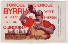BYRRH VINS - TONIQUE HYGEIENIQUE: Advertising postcard (C31606)