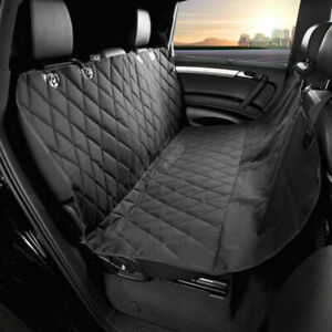 Pet Car Seat Cover Dog Safety Protector Mat Rear Back Seat Hammock +2x Seatbelt