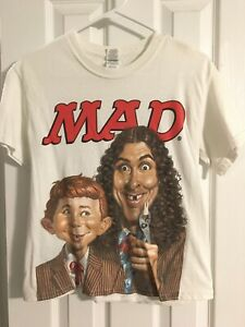 MAD Magazine Weird Al Yankovic Takes Over T-Shirt Size Small S