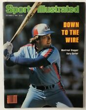 GARY CARTER October 6, 1980 Sports Illustrated Magazine  -  NO LABEL